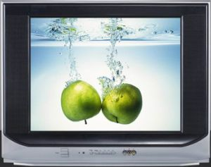 Uitra dünner Farbe Fernsehapparat 21 Zoll