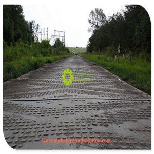 Faixa de plástico de polietileno multifuncional tapete do solo da placa de estrada temporário