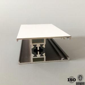 Doppi portelli scorrevoli di alluminio lustrati dei portelli di Huayueda e prezzi di Windows