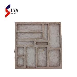 2018 Venda quente folheado de Silicone Moldes de pedra artificial de parede de concreto