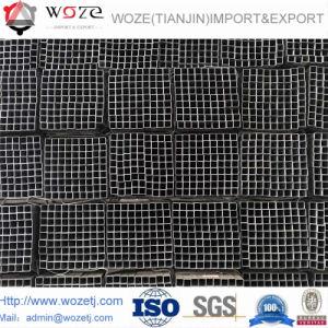 38*38mm schwarzes Möbel-Quadrat-Röhrenstahl-Gefäß
