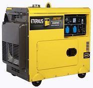Moteur diesel stable petit générateur 7kVA Bm8500te
