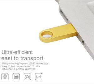 Metal de alta qualidade a unidade Flash USB de 8 GB 4 GB Pen Drive 16GB, 32GB, 64GB, 128GB Memory Stick USB 2.0 de ouro de prata pen drive de disco U