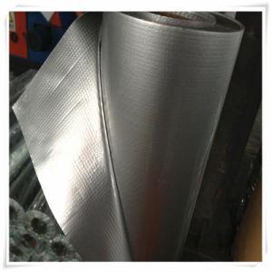 Высокий отражательный металлизированный сплетенный экраном материал упаковывать и изоляции ткани