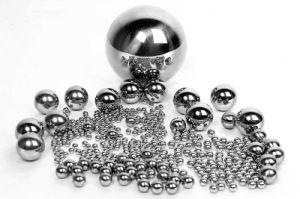 As esferas de aço carbono / Aço inoxidável / rolamento de esfera esfera de aço com certificação ISO9001 SGS Fabricante