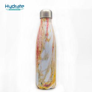 La madera Grainvacuum aislado al vacío de acero inoxidable vaso hidratación directa