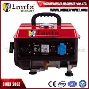 500W de potencia portátil Mini generador de gasolina
