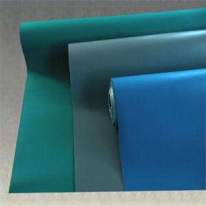Azul Negro ESD 1.5 especial gravedad lámina de goma