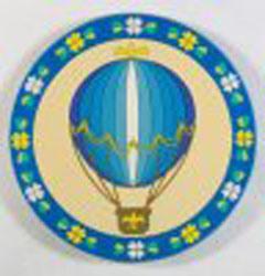 De ronde Onderlegger voor glazen van pvc van de Douane van de Vorm Zachte (onderlegger voor glazen-27)