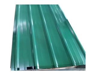La tuile de type T couleur feuille de toiture galvanisé prélaqué