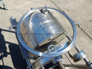 Хлопок масляный фильтр/пластинчатого типа небольшие портативные фильтр из нержавеющей стали нажмите клавишу