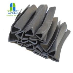유연한 가장자리 손질 고무 가장자리 손질 플라스틱 지구 유리 또는 강철판을%s 고무 가장자리 지구