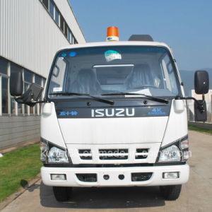 Isuzu погрузчика на улице щеточная машина