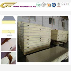 Chambre froide de matériaux de construction panneau sandwich mousse rigide en polyuréthane
