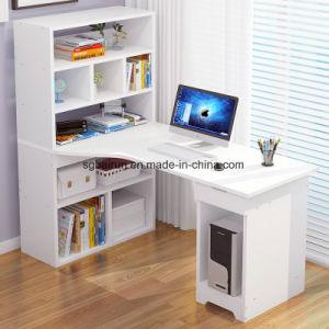 Mobiliário de escritório Design simples Melamina Computador de placa de madeira de turismo