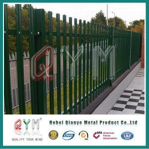 PVC上塗を施してある柵の塀の機密保護の柵の塀のパネル