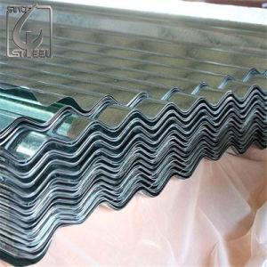 0.35mm hanno timbrato la lamiera di acciaio galvanizzata tetto ondulato
