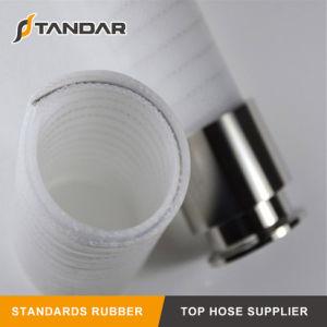Alta qualidade transparente flexível do tubo de borracha de Silicone Grau alimentício