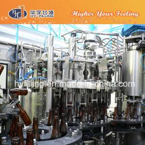 3 em 1 máquina de enchimento de cerveja totalmente automático