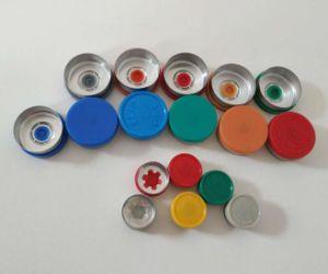 Medische RubberKurk met Aluminium Plastic GLB voor Flesje Pharma