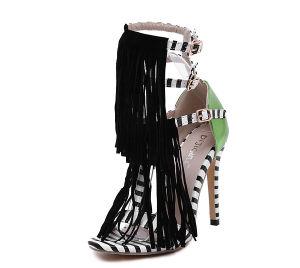 Novo design do calcanhar de alta moda mulheres sapatas (Y 35)