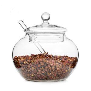 Pimenta Sal Sal Conjunto Jar Jar Jar Doces de açúcar de vidro vidro Taça de açúcar