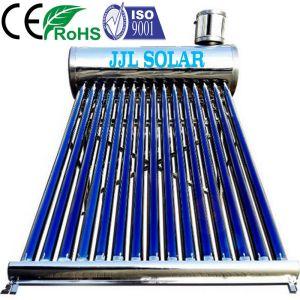 O tubo de vácuo Pressurizado Não galvanizada/aço inoxidável de Energia Solar Térmica Solar Baixa Pressão do aquecedor de água quente (100L/120L/150L/180L/200L/250L/300L)