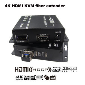 DVI к конвертеру волокна с разбивателем USB клавиатуры и мыши и разбивателем HDMI (2240)