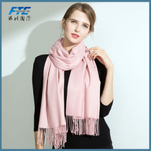 女の子のための女性の冬のスカーフのカシミヤ織のPashminaのスカーフ