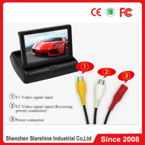4.3  Inch Display를 가진 TFT LCD Color Display Car Rear View Mirror Monitor