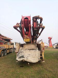 秒針XCMG 48.5mのトラックによって取付けられる具体的なポンプ(HB48AIII)