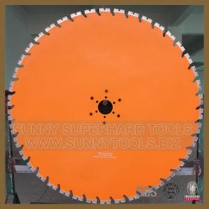 明るい350mm具体的な円のガラス切りは鋸歯を