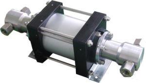 Высокое качество модели: 80-800 бар двойного действия с высоким расходом гидравлического давления воздуха подкачивающим насосом