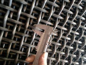 Technisch-Sieb quetschverbundener gesponnener Draht im unlegierten Hartstahl