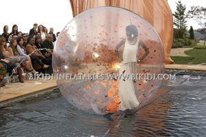 Goede het Lopen van het Water van de Bal van het Water van de Bel van de Prijs Jumbo Opblaasbare Bal, de Bal van Zorb van het Water