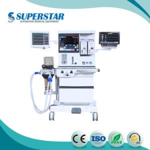 Macchina multifunzionale di anestesia del carrello di S6100X 2018 con il ventilatore per l'adulto
