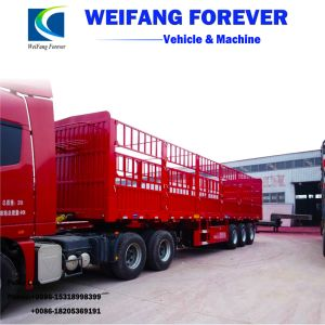 3つの車軸倉庫の/Stake/Fenceのトレーラーを半製造する中国
