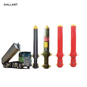 ダンプトラックISO/Ts16949の単動シリンダー油圧RAMシリンダーのはめ込み