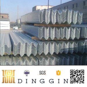 Q235 galvanisierte Stahldatenbahn-Leitschiene