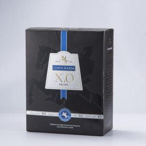 포도주 포장을%s 상한 형식 검정 마분지 종이 상자