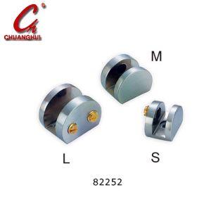 ハードウェアガラスクランプ調節可能なガラスクリップ(CH82250)