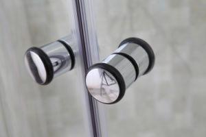 Cristal mate de alta calidad completa de cabina de ducha de masaje de vapor (BLS-9712D)