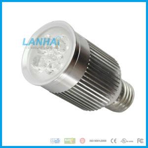 Hoge LEIDENE van de Kop van het Aluminium van de Macht Lichte 4W E27 Schijnwerper