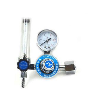 Riduttore di pressione dell'argon con il contatore