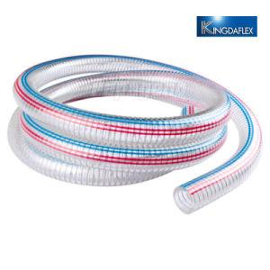 Espiral de PVC flexible de Refuerzo de alambre de acero