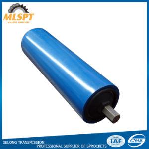 Las ranuras de simple o doble tubo de la correa transportadora de los rodillos del transportador