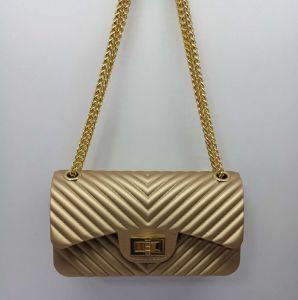 De lichte Gouden Zak van de Gelei van de Vrouwen van de Avond van het Lichaam van de Handtas van de Ontwerper Dwars