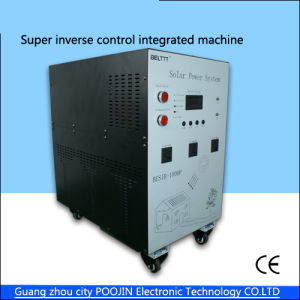 500W High Efficiency Pure Sine Wave Solar Power Generation System DC12V AC220V 10A Controller