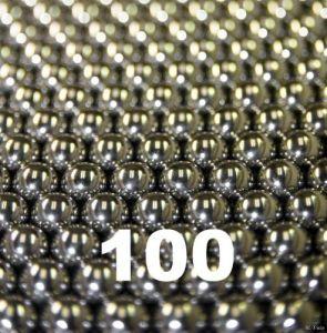 6,35 mm (1/4 de pulgada) Gcr15 teniendo la bola de acero para rodamientos de bolas de ranura profunda