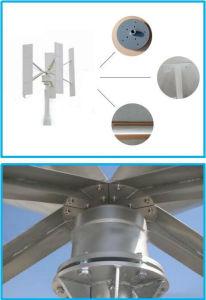 generador de turbina vertical de viento del eje de 300W 12V 24V Maglev para las casas residenciales